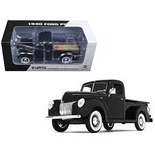 New 1940 Ford Pickup Truck Black 1/25 Diecast Model Car By First ... 1956 Ford F100 Pickup Truck 124 Scale American Classic Diecast World Famous Toys Diecast Trucks F150 F 1953 Car Package Two 143 Scale 2016f250dhs Colctables Inc New 1940 Black 125 Model By First Chevrolet Chevy 2017 Dodge Ram 1500 Mopar Offroad Edition Hobby 1992 454 Ss Off Road Danbury Mint For 1973 Ranger Red White 118