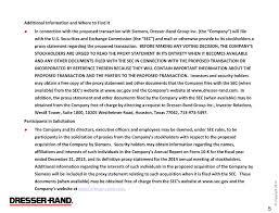 dresser rand group inc investor relations 100 images 100