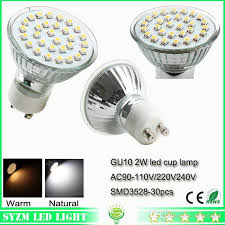 best led cup bulbs gu10 warm white nature white cool white smd3528