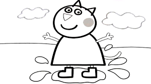 Coloring Book For Kids Peppa Pig Pages Fun Videos