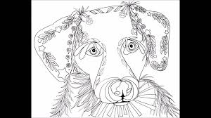 Love Puppies Coloring Book For Adults