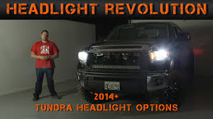 2014-2017 Toyota Tundra Headlight Options - Tundra Video Series (6 ... Best Led Headlight Bulbs Bestheadlightbulbscom 12016 F250 F350 Lighting F150 Brings Tech To Trucks Lamarque Ford New Orleans Kenner 0911 Hyundai Genesis4dr Dualcolor Halo Rings Head Fog Lights Penske Installing Trucklite Headlights On 5000 Rental Semi Combo H4 Redline Lumtronix 7 Inch Round White Anzo Hid 2015 Silverado Youtube Making Daylight Custom Headlights Volkswagen Amarok Bi Xenon Ultimate Left Right Vw 0713 Gmc Sierrard