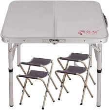 Tables Folding Table 2 Adjustable Heights Aluminum ...