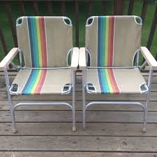 Details About Lot: 2 Vintage Aluminum Frame Woven Webbed ... Lawn Chair Webbing Replacement Nylon Material Repair Kits For Plastic Alinum Folding Chairs Usa High Back Beach Old Glory With White Arms Telescope Outdoor Fniture Parts Making Quality Webbed Pnic Charleston Green I See Your Webbed Lawn Chair And Raise You A Vinyl Tube Vtg Red Blue Child Kid Patio The Home Depot Weave Seats With Paracord 8 Steps Pictures Cane Cheap Garden Recliner Chama Allterrain Swivel