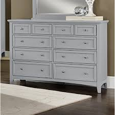 Vaughan Bassett Dresser With Mirror by Vaughan Bassett 10 Drawer Dresser With Mirror U0026 Reviews Wayfair