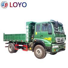 100 Dump Truck Tailgate Sinotruk New Huanghe 4x2 Brand New 190 Hp