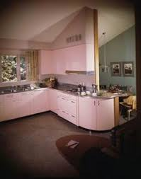 Pink Kitchen In Pace Setter House