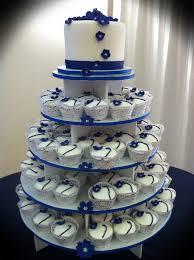 Blue Wedding Cupcake Ideas And White Cupcakes Weddings