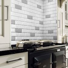 Metro Light Grey Ceramic Wall Tiles