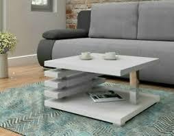 details zu couchtisch kenai sofatisch kaffeetisch wohnzimmer modern tisch weiß schwarz m24