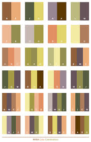 Warm Color Schemes Combinations Palettes For Print CMYK And Web