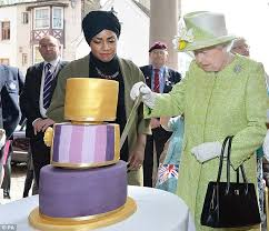 Great British Bake Off Winner Nadiya Hussain Had The Honour Of Baking Queens 90th Birthday 2