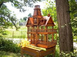 Amazing Vintage Decorative Victorian Birdhouse Inspired By The Julius Shulman Story Book Home