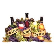 Wine Dine Plaque