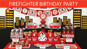 100 Fire Truck Birthday Party Fighter Ideas Fighter B24