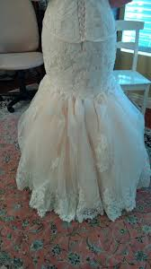 Maggie Sottero Marianne BUSTLE ALTERATIONS PICS