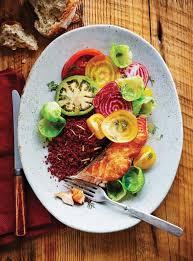 cuisiner des betteraves saumon poêlé et boulgour aux betteraves ricardo