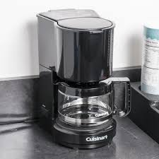 Conair Cuisinart WCM04B 4 Cup Coffee Maker Black With Glass Carafe