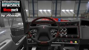 100 Fmi Trucks InteriorExterior Reworks MEGAPack 17 ATS Mods American Truck