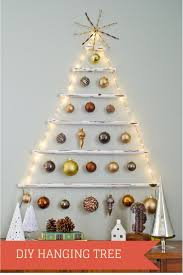 Christmas Tree Books Diy by Best 20 Hanging Christmas Tree Ideas On Pinterest Hanging