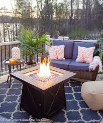 Blue Coral Lakeside Deck Living Space Reveal Featuring