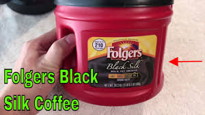 How To Use Folgers Black Silk Coffee Review