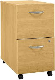 bush wc60352 file cabinet 2 drawer casters allow easy mobility
