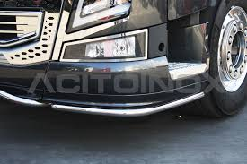 CORNER BUMPER BARS 40 | Volvo FH4 | Acitoinox | Truck Parts ... 2006 Volvo Vnl Front Bumper Assembly For Sale Sioux Falls Sd 300 Tractor Truck 2011 3d Model Hum3d 20 Vnl 04 Up Aero 3 Grill Fog Lights Miamistarcom Fender Trim Pair Rh Lh Chrome Bubbaparts Used Commercials Sell Used Trucks Vans For Sale Commercial Gen 2 New Aftermarket Steel Chrome Bumper 2003up Made Wwwbigfrontgrillcom Installed On A Bison Transport Vn New Fmx Details And Photos Released Aoevolution Lvo Truck Accsories 2016 Vnl630 Heavy Spec Low Kms 630 At Premier Trucks Opens Customer Center Virginia Factory