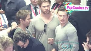 Video The Avengers Cast Arriving At SDCC 2014 July 26th