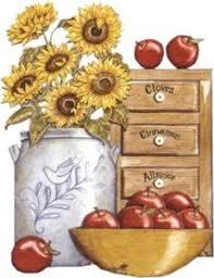 9fe37451 ApplesKitchen ClipartFlowersForbidden FruitKitchen ArtCountry