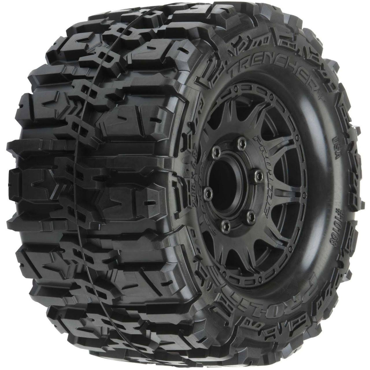 Pro Line Trencher Hp 2 8 All Terrain Belted Truck Tires