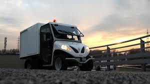Electric Commercial Vehicles: Alkè Mini Van