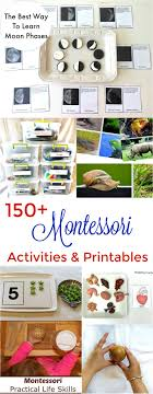 150 The Best Montessori Activities Free Printables Books Preschool