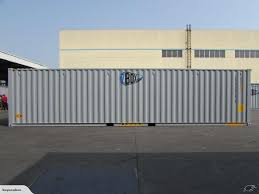 100 Shipping Container 40ft NEW THREE DOOR In GREY