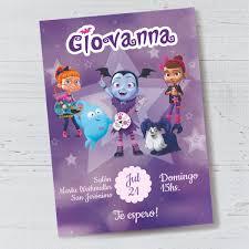 Kit Piñata Vampirina Cartón Relleno
