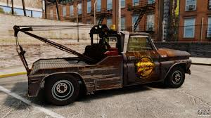 100 Gta 4 Tow Truck Chevrolet Truck Rusty Stock GTA