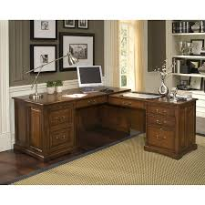 Wayfair Desks With Hutch by Amazon Com Cantata L Shaped Computer Workstation Kitchen U0026 Dining