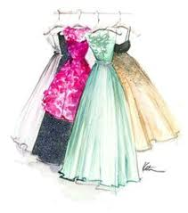 Drawn Gown Formal Dress 8