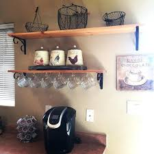 Keurig Coffee Station Innovative K Cup Holder In Kitchen Traditional
