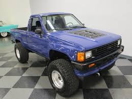 1986 Toyota Pickup | Streetside Classics - The Nation's Trusted ... 1986 Toyota Sales Brochure Efi Turbo 4x4 Pickup Glen Shelly Auto Brokers Denver Govdeals 1 Ton Long Bed Reg Cab 2wd Youtube 1990 Overview Cargurus Sr5 Extendedcab Truck Stock Fj40 Wheels Super Clean T25 Anaheim 2016 V8 Ex Bad Boy Toy 4cam 32valves Hilux Wikipedia Lift Kits Tuff Country Ezride The And Tacoma Compared Spec For Deluxe Toyota Pickup Deluxe 4x4 Regular Cab Sly Lumpkins 4runner Bfgoodrichs What Are You