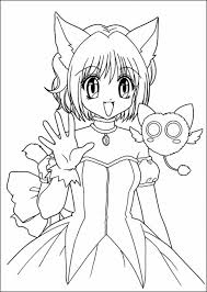 Coloring Pages Of Anime Book