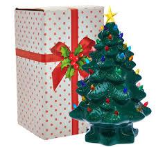 Mr Christmas 14 Nostalgic Tabletop Tree W Super Bright LED Lights