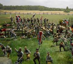 Britains Most Decorated Soldier Ever by Acw Above And Beyond Diorama By Mike Estell Using W Britain