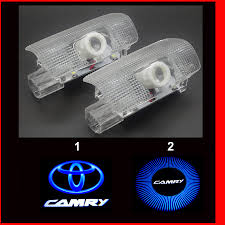 hd brightness car 3d ghost shadow l auto 3d camry door logo