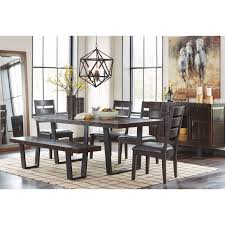 Rustic Dining Room Images by Modern Rustic Dining Room Server With Metal Sled Style Metal Legs