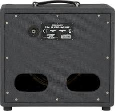 Mesa Boogie Cabinet 2x12 by Amazon Com Fender Bassbreaker Bb 112 Enclosure Musical Instruments