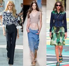 Jeans By Diane Von Furstenberg A Skirt Alberta Ferretti And Denim Jacket