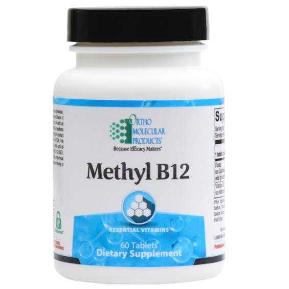 Ortho Molecular Products Methyl B-12 - 60 Tablets
