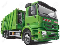 100 Rubbish Truck Detail Image Of Modern Garbage Rear Loader Isolated