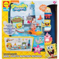 Spongebob Squarepants Bathroom Decor by Alex Toys Spongebob Mrs Puff U0027s Boating Walmart Com